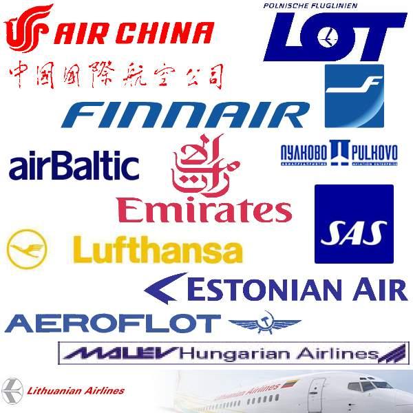Fluggesellschaften, Partner von Go-East Reisen